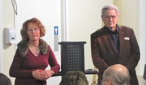 Andréa Richard et Michel Virard en 2012